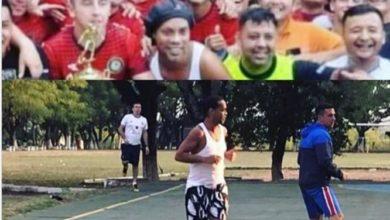 Photo of Ronaldinho segna 5 gol nel torneo del carcere e vince un maialino