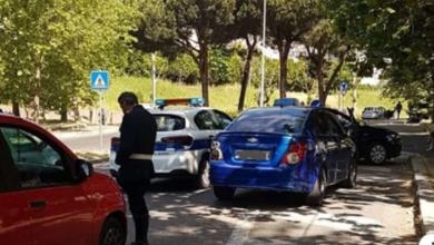 """Photo of """"Ho preso il muro fratellì"""", patente ritirata ed auto sequestrata."""